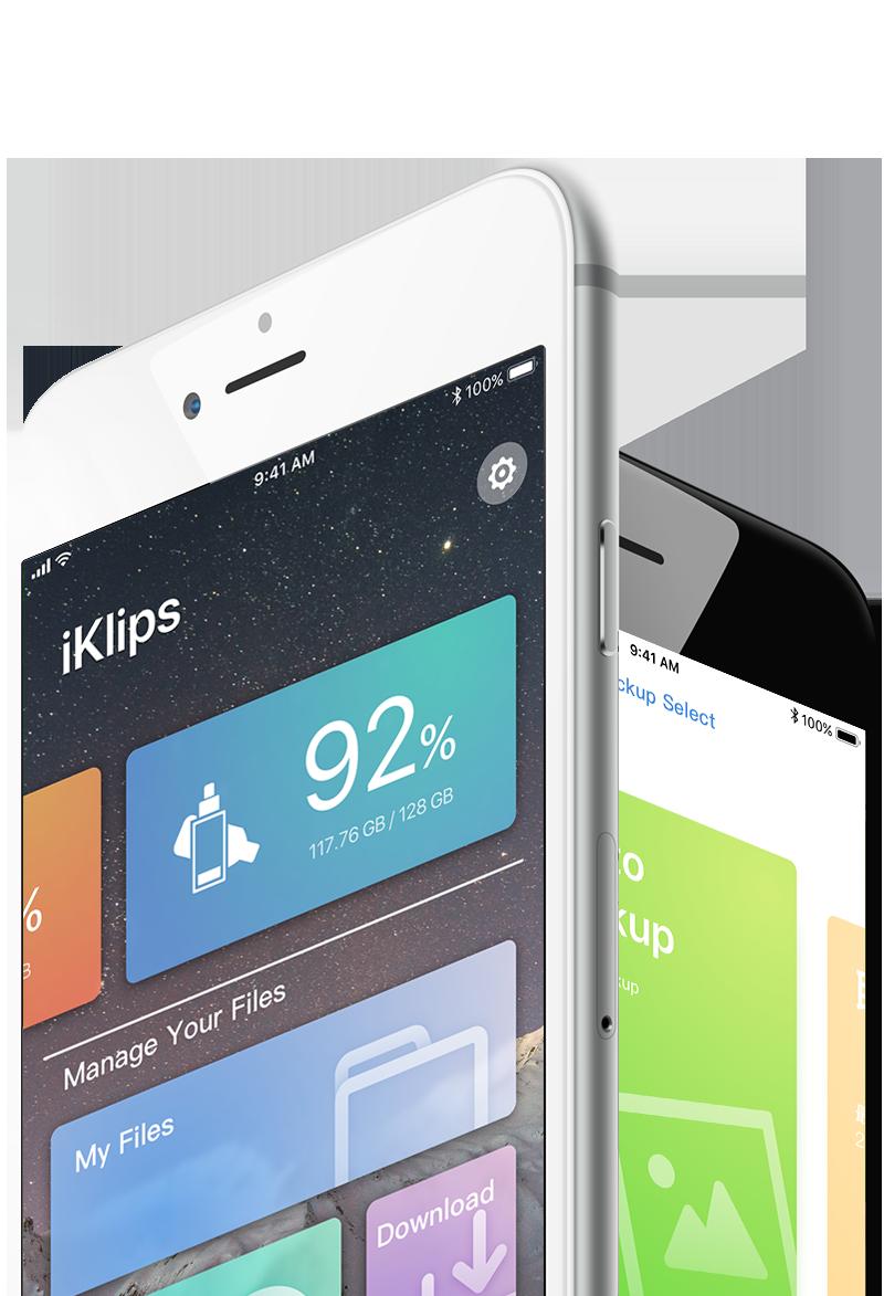 iKlips APP | Manage iOS your way