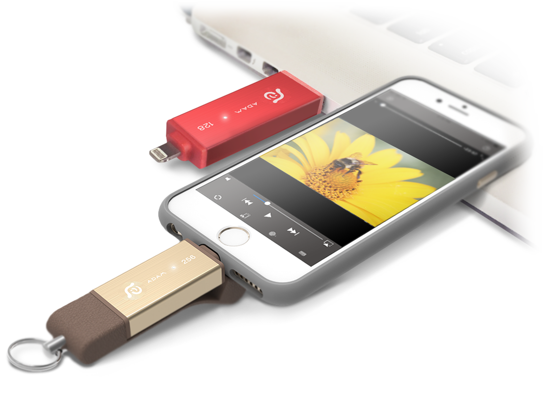 Iklips Duo Youll Get Attached To It Adam Element Flash Drive 64 Gb Grey App Screenshot